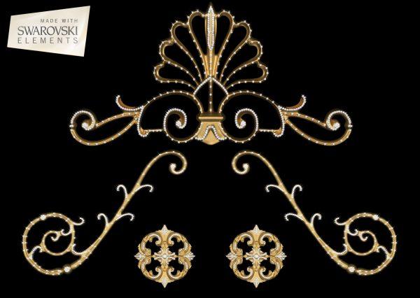Decorative hardware